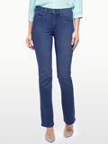 [Not Your Daughter's Jeans� Billie Premium Lightweight Denim Mini Bootcut Jeans]