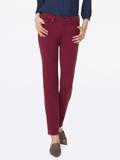 [Not Your Daughter's Jeans� Sheri Sueded Sateen Slim Pants]
