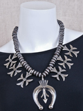 [Coreen Cordova Jewelry Modern Squash Blossom Necklace]