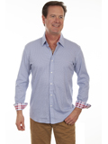 [Scully Men's Signature Soft Series Classic Long Sleeve Shirt]