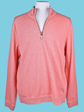 [Tommy Bahama� Men's Flip Side Twill Half Zip Sweatshirt]