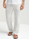 [Tommy Bahama� Men's New Linen on the Beach Easy Fit Pants]
