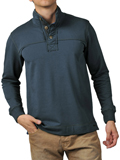[JEREMIAH� Men's Taylor French Terry Mock Sweatshirt]