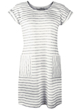 [Aventura Clothing Topanga Organic Cotton Blend Weathered Stripe Dress]